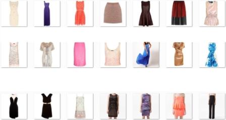 21 عدد لباس مجلسی  -- نوک تیز